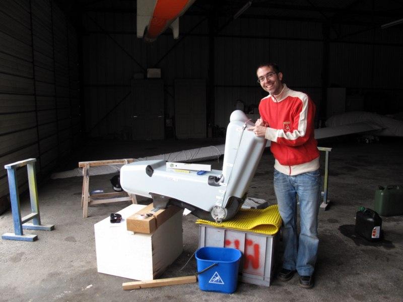 Mars 2010 : Montage, calibration et vérification du réservoir auxiliaire