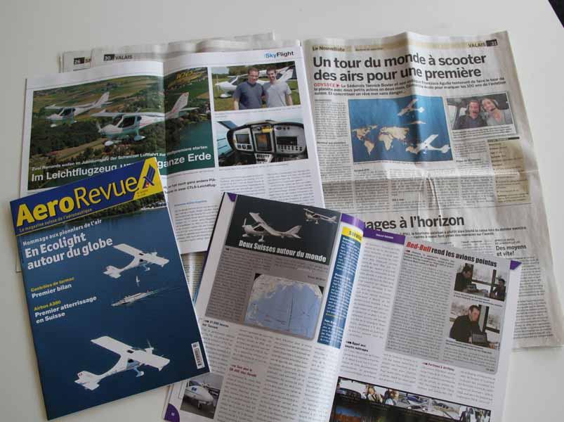 Février 2010 : Information aux médias