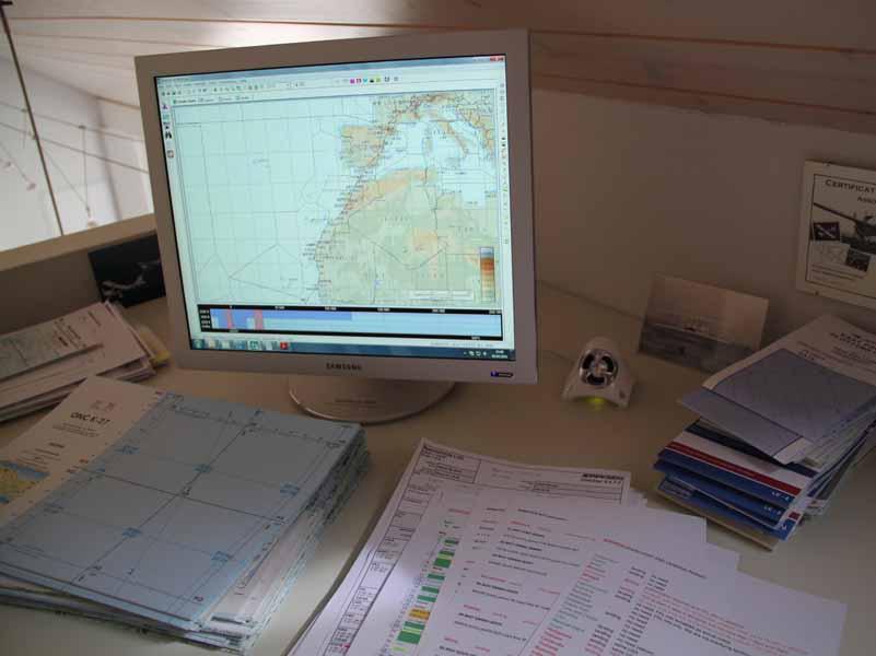 2010 : Planification détaillée de la route