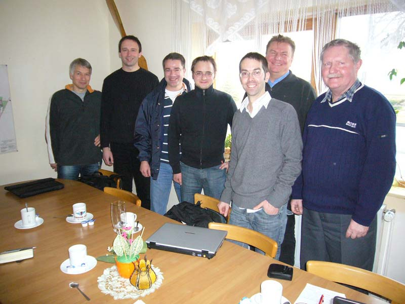 January 2009 : Meeting with Flight Design in Berlin